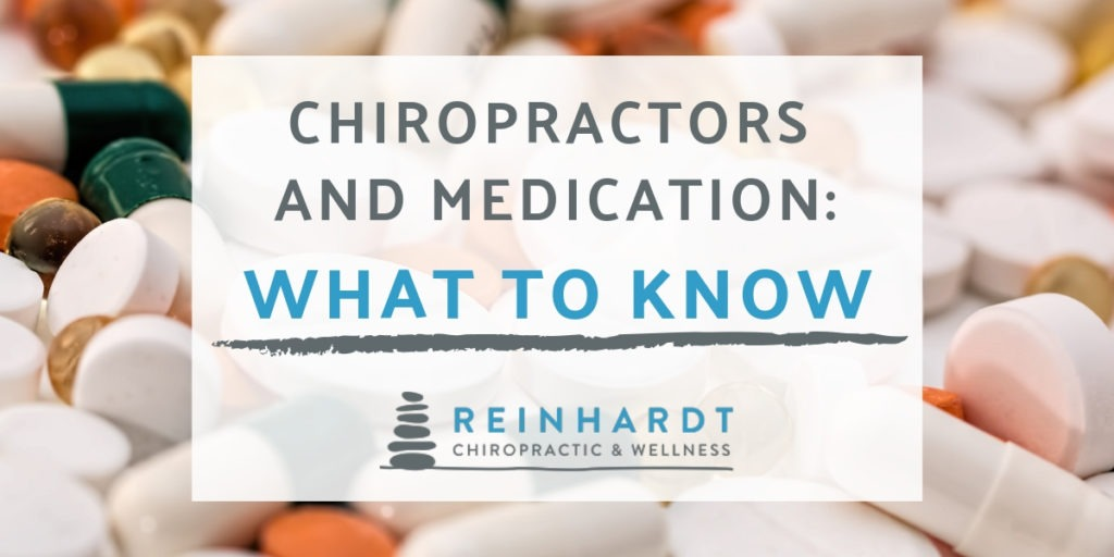chiropractors and medication